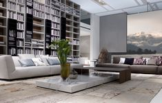 Book Cases and furnishings by Poliform - SOHO sofa