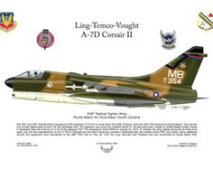 Made in the USA! Ling-Temco-Vaught A7D Corsair II