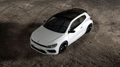 """Volkswagen has introduced a series of visual upgrades for the Scirocco R, in a pack dubbed """"Black Style""""."""