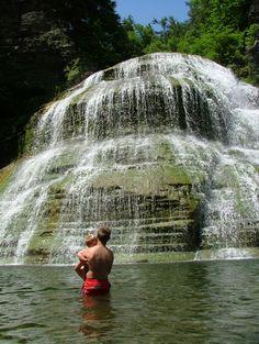 Treman Falls- Finger Lakes, NY