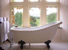 Adare Manor - Adare Village, Ireland | Community Post: 20 Dream Bathtubs From Hotels Around The World