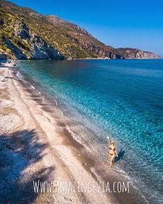Saying goodbye to summer from amazing Korasida beach👋🌊☀️🏖 Beautiful Beaches, Island, Amazing, Water, Summer, Travel, Outdoor, Gripe Water, Outdoors