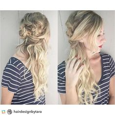 Here is some GREAT work used by @hairdesignbytara in the LA area after learning KellGrace updo techniques last week.  Have you taken a class?! Tag your pics with KellGrace techniques so I can see!