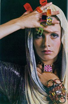 Twiggy by Bert Stern, 1967