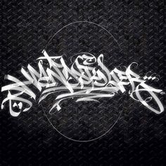Handstyler: There's Art In A Tag | the Handstyler logo, design by King Kanser...