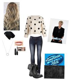 """""""With dalton at his audition"""" by alex-sharrar ❤ liked on Polyvore featuring Michael Kors, LASplash and Bobbi Brown Cosmetics"""