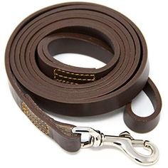 Save 25% with promo code 25ZK85GS | Amazon.com Leash Training, Best Dog Training, Leather Dog Collars, Braided Leather, Dog Leash, Natural Leather, Large Dogs, Pet Supplies, See On Tv