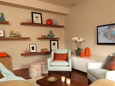 Decorating Tips for Furnishing Small Apartments   HGTV