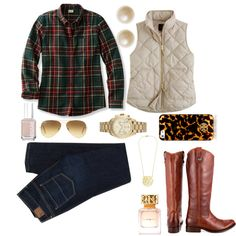 Guideline #4: In fall & winter, vests are essential!