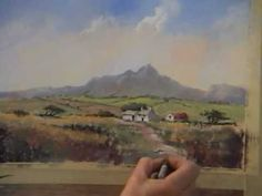 Pastel Painting Demonstration of Pembrokeshire Cottage for Heart of England Artists