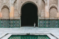 The Ben Youssef Madrasa // City Guide to Marrakech from Project Bly and Caitlin Flemming. // #Design #Morocco #Travel