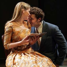 The Light in the Piazza. I didn't realize until just now that I saw Will Schuester from Glee! Kelli O'Hara and Matthew Morrison. Broadway.