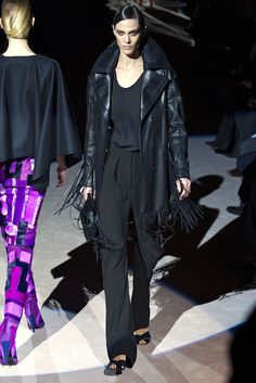 Tom Ford Fall 2013 Ready-to-Wear Fashion Show - Aymeline Valade