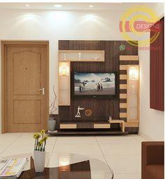 Tv Unit Furniture Design, Tv Unit Interior Design, Interior Ceiling Design, Pop Ceiling Design, Tv Wall Design, Hall Design, Bed Design, Diy Furniture, Lcd Unit Design