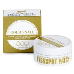 *Esthetic House* Gold Snail Eye & Spot Patch Wrinkle Solution (90 Sheets)