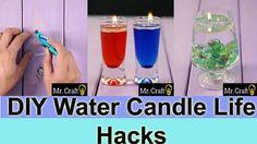 DIY Water Candle Life Hacks