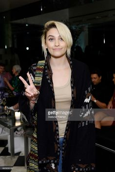 18-year-old Paris Jackson attends Daily Front Row's 3rd Annual Fashion Los Angeles Awards - After Party on April 2, 2017 in Los Angeles, California.