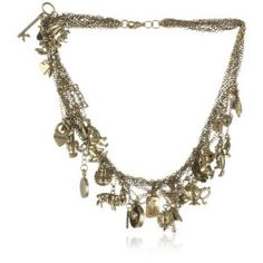 Disney Couture Tim Binns Charm Necklace