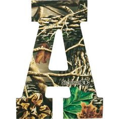 camo letters from cabelas
