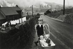 Wales    photo by Bruce Davidson; welsh miners series, 1965