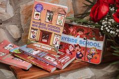 All four books in the beloved Wayside School series by bestselling and Newbery Medal–winning author Louis Sachar are now available in this collectible set! More than fifteen million readers have laughed at the stories of Sideways Stories from Wayside School, Wayside School Gets a Little Stranger, Wayside School Is Falling Down, and the newly released Wayside School Beneath the Cloud of Doom. 📸 @mothergamerwriter National Book Store, Louis Sachar, Newbery Medal, Reluctant Readers, Gifts For Readers, Falling Down, Cloud, This Book, Hilarious