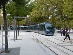 Tram in Bordeaux, France. Click image for source and visit the Slow Ottawa 'Streets for Everyone' board for more smart solutions.