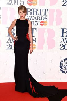 Taylor Swift on the red carpet for the Brit Awards, plus more celebs: