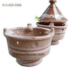 Moroccan Charcoal Brazier  (Majmar) --For traditional slow-simmered Moroccan tagine recipes, use this Majmar like a BBQ Grill. Simply fill with charcoal, place your cooking tagine on top, and slow-simmer your meal.