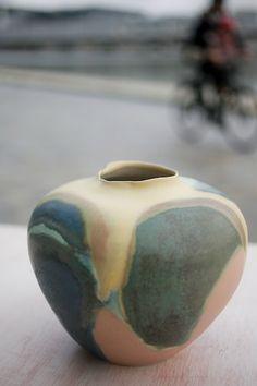 Multicolore and unique Ceramic Made In my Ceramic studio At Pantin. Photo by (c)Veronique Durruty Ceramic Studio, Creations, Vase, Ceramics, Unique, How To Make, Home Decor, Ceramica, Pottery