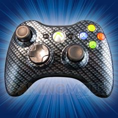 This is our Carbon Fiber Black Xbox 360 Modded Controller. This bad boy is SICK. Appearance is everything and this controller speaks for itself. This is the ultimate way to let everyone know you're a serious gamer. Be the envy of all your friends and team members with your very own GamingModz.com Carbon Fiber Xbox 360 Rapid Fire Controller.