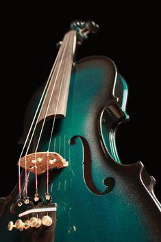 New 4 4 Size Barcus Berry Vibrato AE Metallic Green Electric Violin w Case | eBay