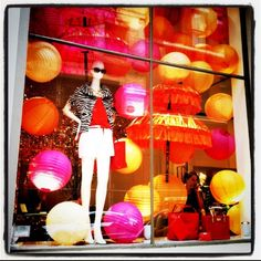 Kate Spade window in NYC.