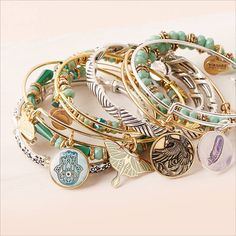 ALEX AND ANI – Bangle Bracelets, Necklaces, Earrings and Rings - Spring Layering