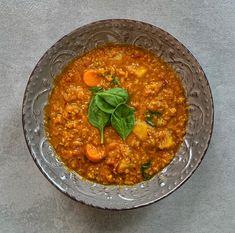 Vöröslencse dahl Dahl, Tofu, Ethnic Recipes, Turmeric