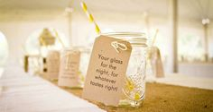 Rustic Summer Wedding Guest Dessert Feature   Amy Atlas Events