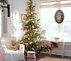 Charlie Brown Christmas Tree at Town and Country Living