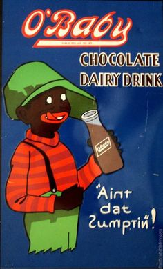 This ad is selling chocolate milk, in a highly racist way. It makes African American people look like hillbillies and fools. Did the makers seriously didn't see the racism in this?
