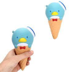 Penguin Ice cream Cute Kawaii Jumbo Squishy 17CM Slow Rising Scented Kid Toy