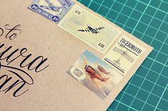 Come fly with us {Custom Envelope}
