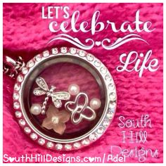 South Hill Designs Lockets and Charms  shop-host-join Lockets starting at $24.20 All charms are $5.50 :) Click on the picture to custom build your own personalized beautiful locket! The ideas to create your own look are endless, whether you are looking for a gift, or have a hobby are a new mom, a graduation, a vacation, a sweet sixteen party, a sports fan, a teacher gift, a coaches gift, a pet, religion/faith....we have it all!!! Who do you have to buy gift for in the next 90 days?