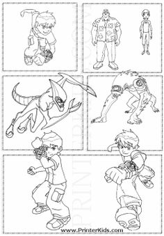 Ben 10 Colouring Page. Google Image Result for http://www.printerkids.com/images/coloringpages/gif/ben10-001.gif
