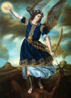 St Michael pray for us Catholic Art, Religious Art, Angel Hierarchy, Angel Stories, Angel Prayers, Angels Among Us, Angel Pictures, Archangel Michael, Miguel Angel