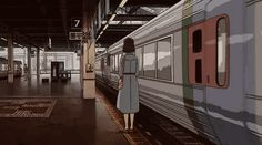 Animated gif shared by ॐ Mayy ॐ. Find images and videos about gif, retro anime and screen capture on We Heart It - the app to get lost in what you love. Aesthetic Gif, Aesthetic Wallpapers, Aesthetic Black, Anime Gifs, Japon Illustration, Brooklyn Baby, Animation, Scenery Wallpaper, Mo S