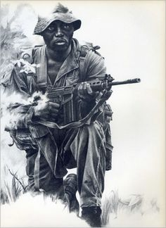 Buy Images, Vietnam War Photos, Tactical Survival, Modern Warfare, Military Art, Army, Statue, Black And White, History