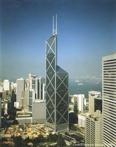 Bank of China Tower - Hong Kong, China (367.4m/1205ft) I.M. Pei & Associates)