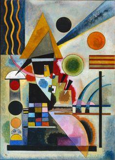 E fu così che mi rubò il cuore. Swinging - Wassily Kandinsky, 1925. Tate Modern, London.