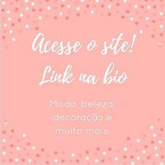 Não percam as novidades sobre moda, beleza, decoração, receitas e muito mais que estão por vir no site! #moda #beleza #decoracao #lifestyle #receita #bellaaurorablog