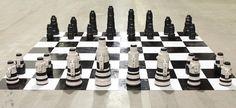 Canon lens chess