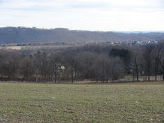 Many open fields and farmland and nice views