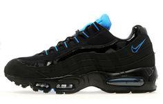 """Nike Air Max 95 """"Black  Photo Blue"""""""